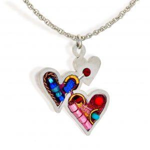 HomeNecklaces Seeka Hearts Necklace